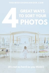 4 Great Ways to Sort Your Photos