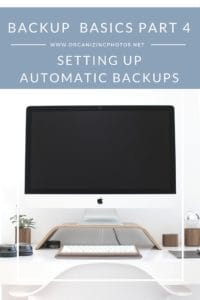 how to set up time machine with external hard drive