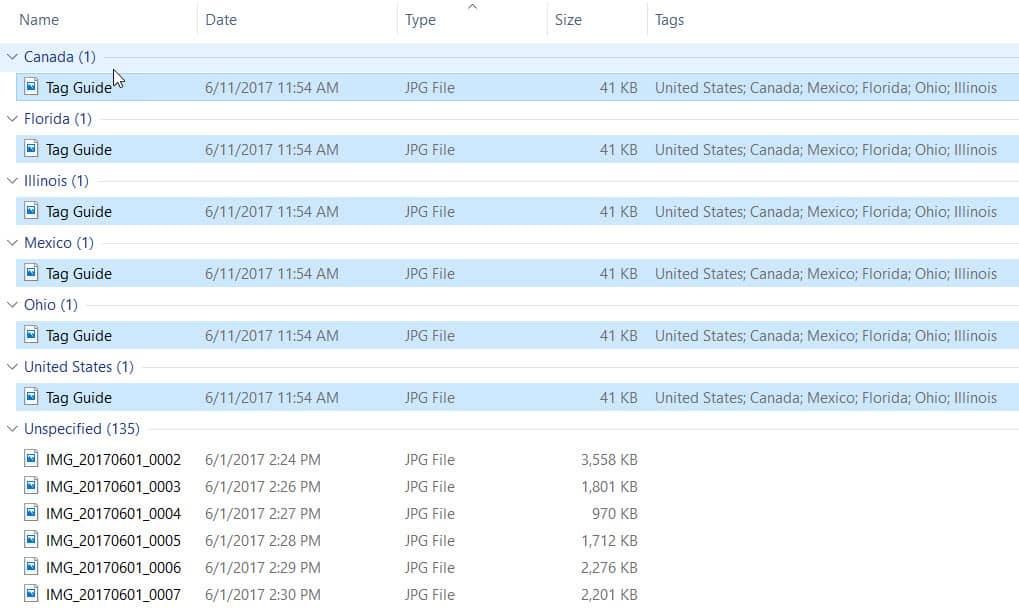 Sorting-Photos-Tags-Windows-outline - Organizing Photos