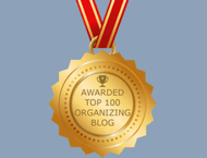Top 100 Organizing Blog
