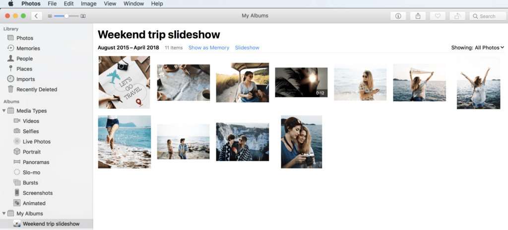 How to Create Powerful Video Slideshows to Enjoy Your Memories | OrganizingPhotos.net