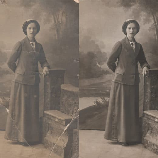 How to Quickly Restore An Old Photo in Photoshop   OrganizingPhotos.net