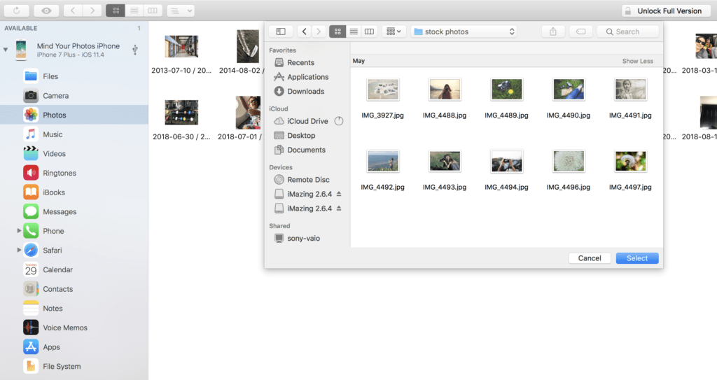 How to Transfer Photos with iMazing (Drag and Drop Style)