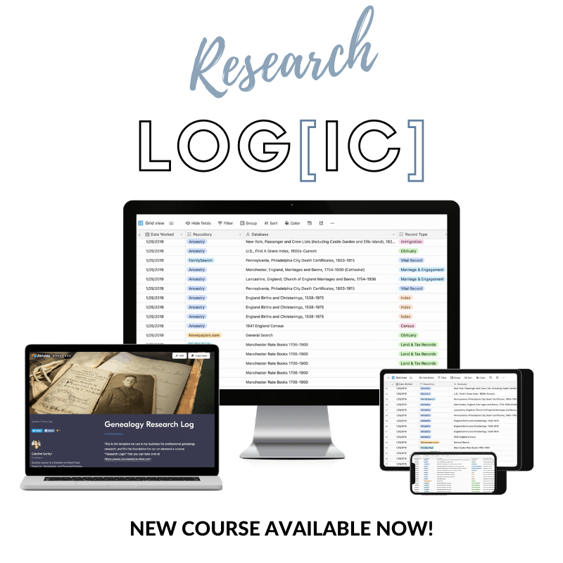 Research Logic - New Course!