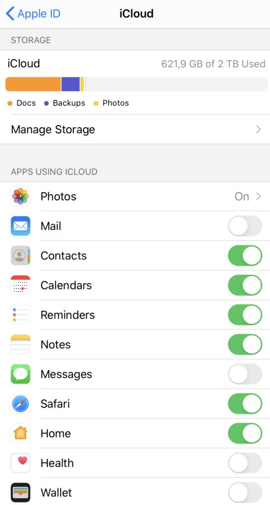 My iCloud Storage is Full - Should I Upgrade? | OrganizingPhotos.net